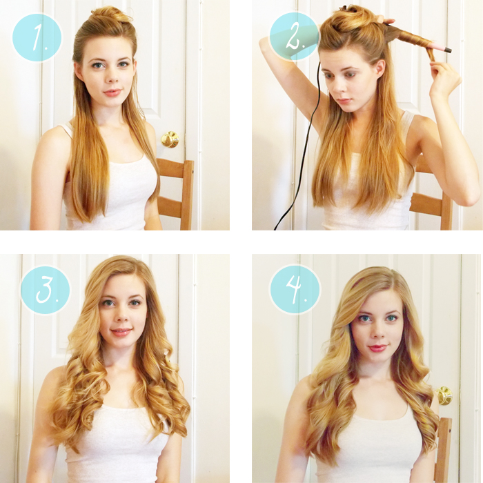 Hot Half Curls Short Hairstyle 2013