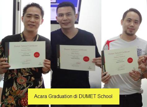 Acara Graduation di DumetSchool