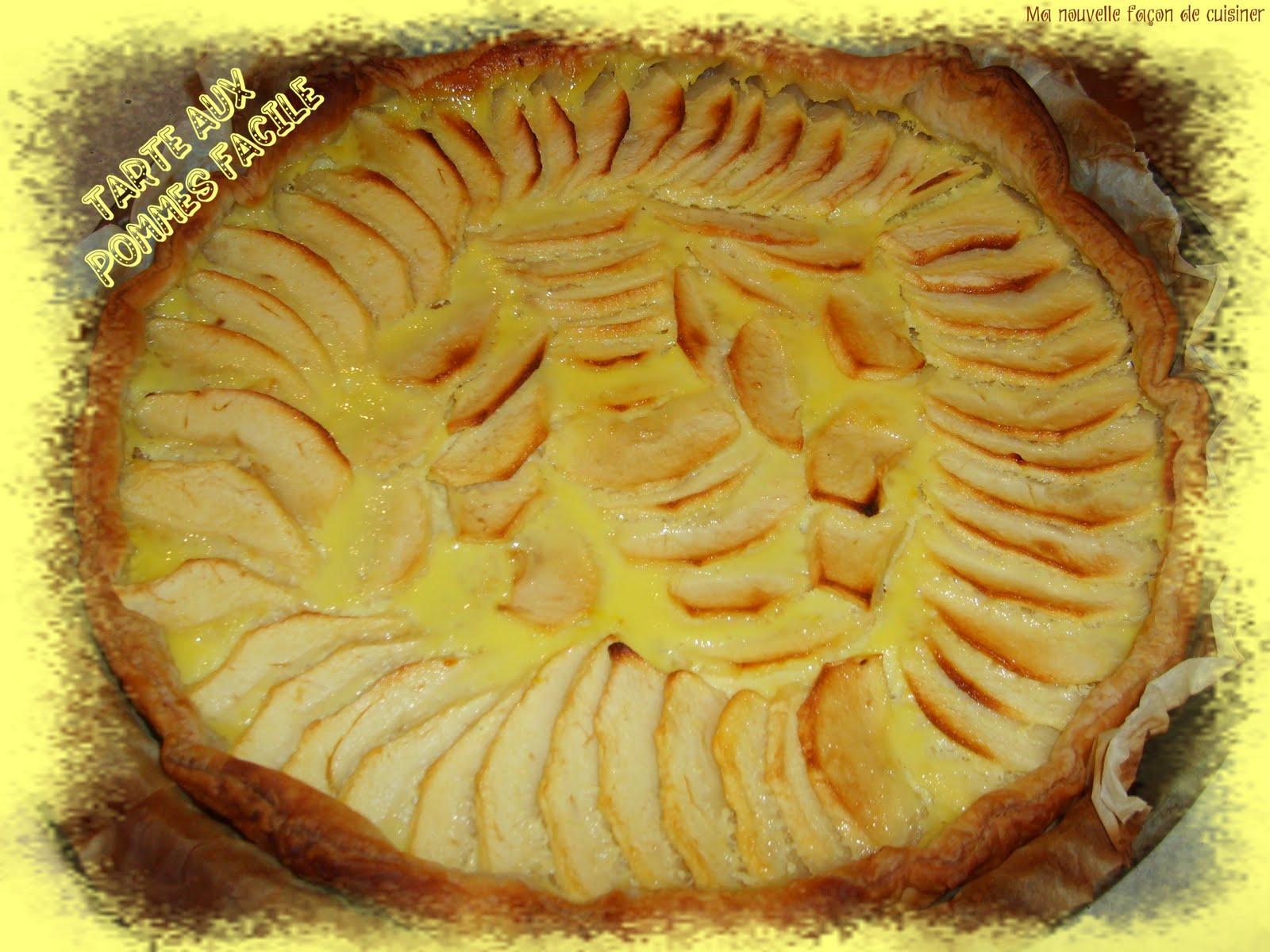Ma nouvelle fa on de cuisiner tarte aux pommes 4 pts fp - Cuisiner le patisson marmiton ...
