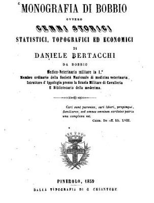 Daniele Bertacchi (1859): i pelasgi e gli Illirici occuparono per primi l'Italia