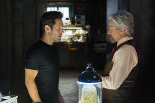 Paul Rudd and Michael Douglas in Ant-Man, a review