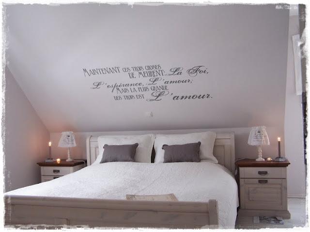 Schlafzimmer Tapeten Dachschr?ge : Tapeten Schlafzimmer Schr?gen: La casa blanca psssssst. Farbideen