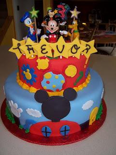 Amazing Mickey Mouse Birthday Cake
