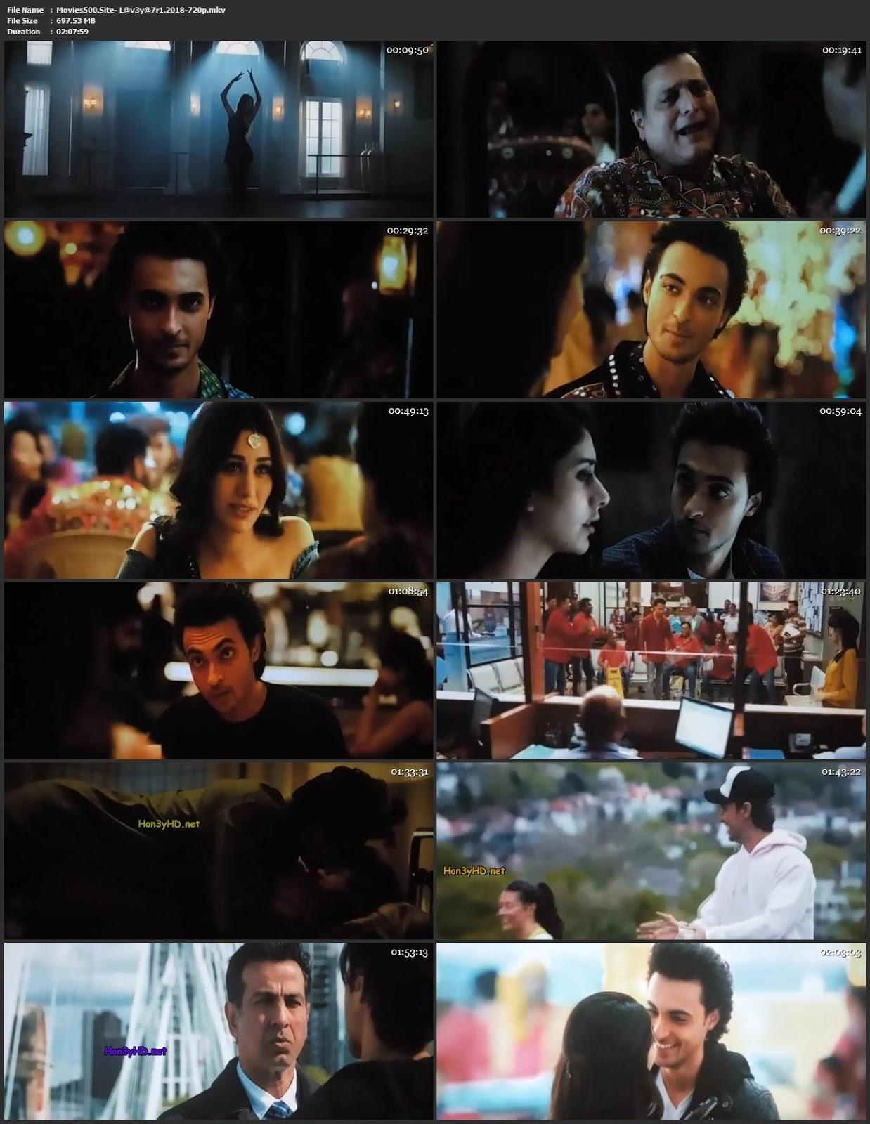 Loveyatri 2018 Hindi Full Movie Pre DVDRip 720p