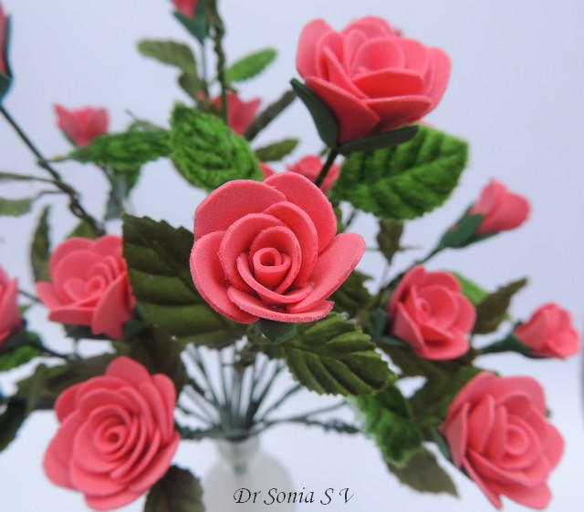Cards crafts kids projects handmade foam rose flower tutorial handmade foam rose flower tutorial mightylinksfo