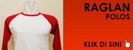 Kaos Raglan Polos