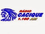 ouvir a Rádio Cacique AM / Estadão 1160,0 AM Sorocaba SP