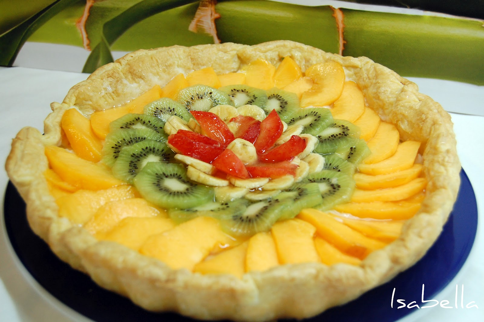 Hoy comemos con isabella tarta de hojaldre y frutas - Macedonia de frutas thermomix ...