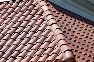 Superb Tiles Are Used For Floor, Wall And Roof Covering.