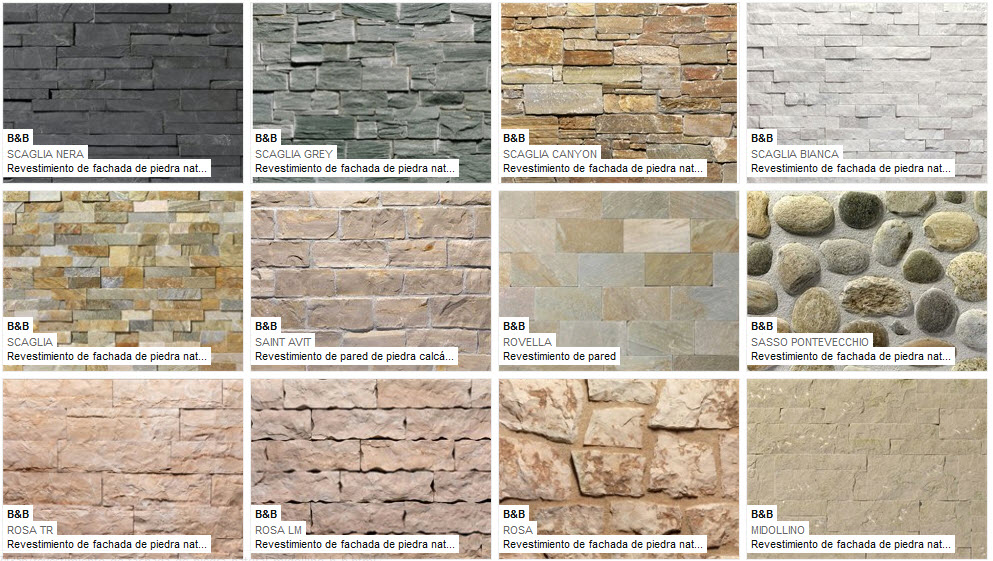 Fachadas de piedra de casas modernas fotos de fachadas - Piedra pared exterior ...