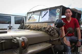 Renz Cheng in Willys Jeep