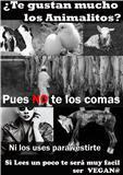 Si te gustan los animales no te los comas!!