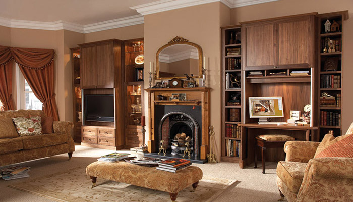 Wonen for Klassieke inrichting woonkamer