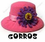 http://manualidadesconfieltros.blogspot.com.es/2014/02/gorros-de-fieltro.html