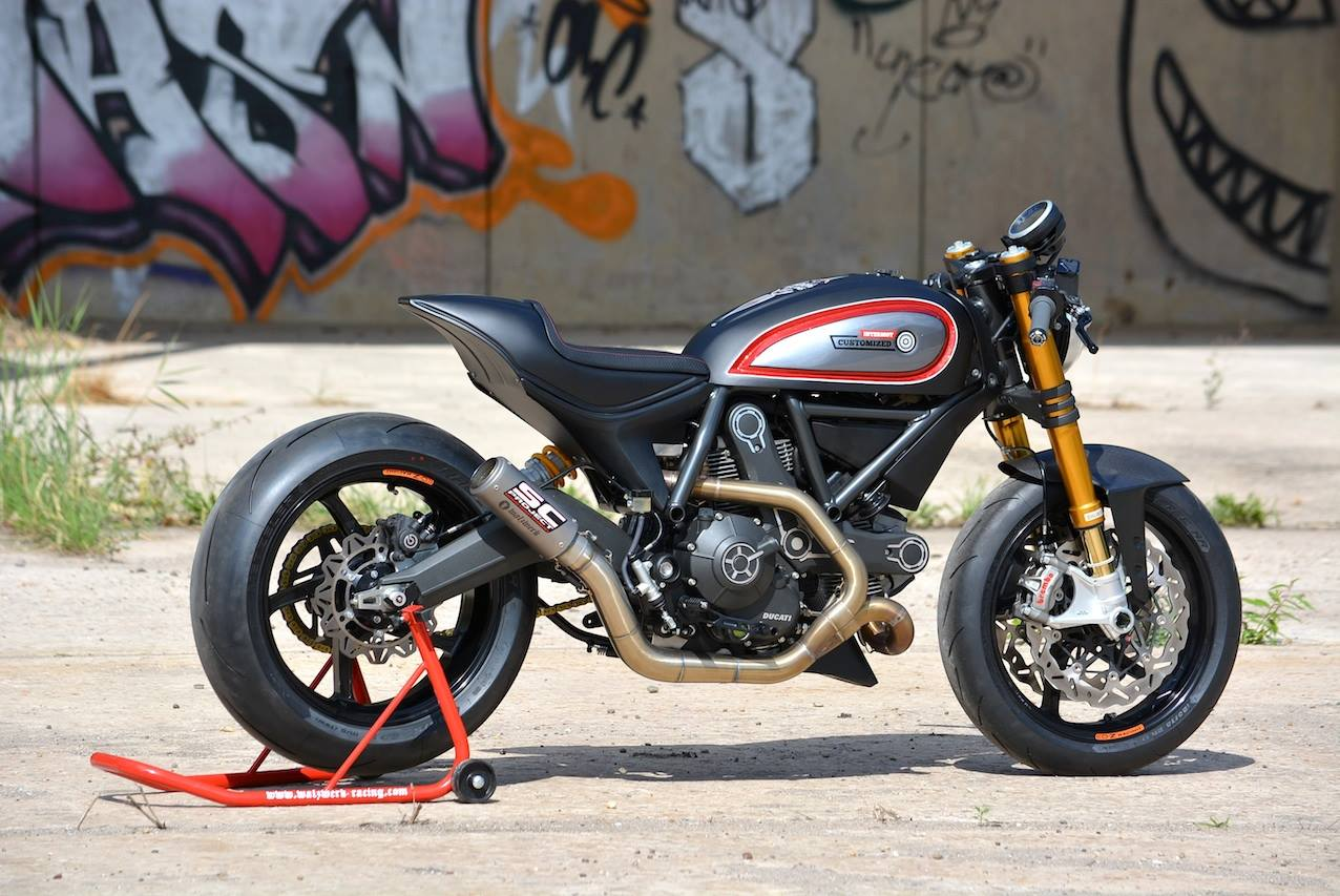 Racing Caf 232 Ducati Scrambler By Walzwerk Racing