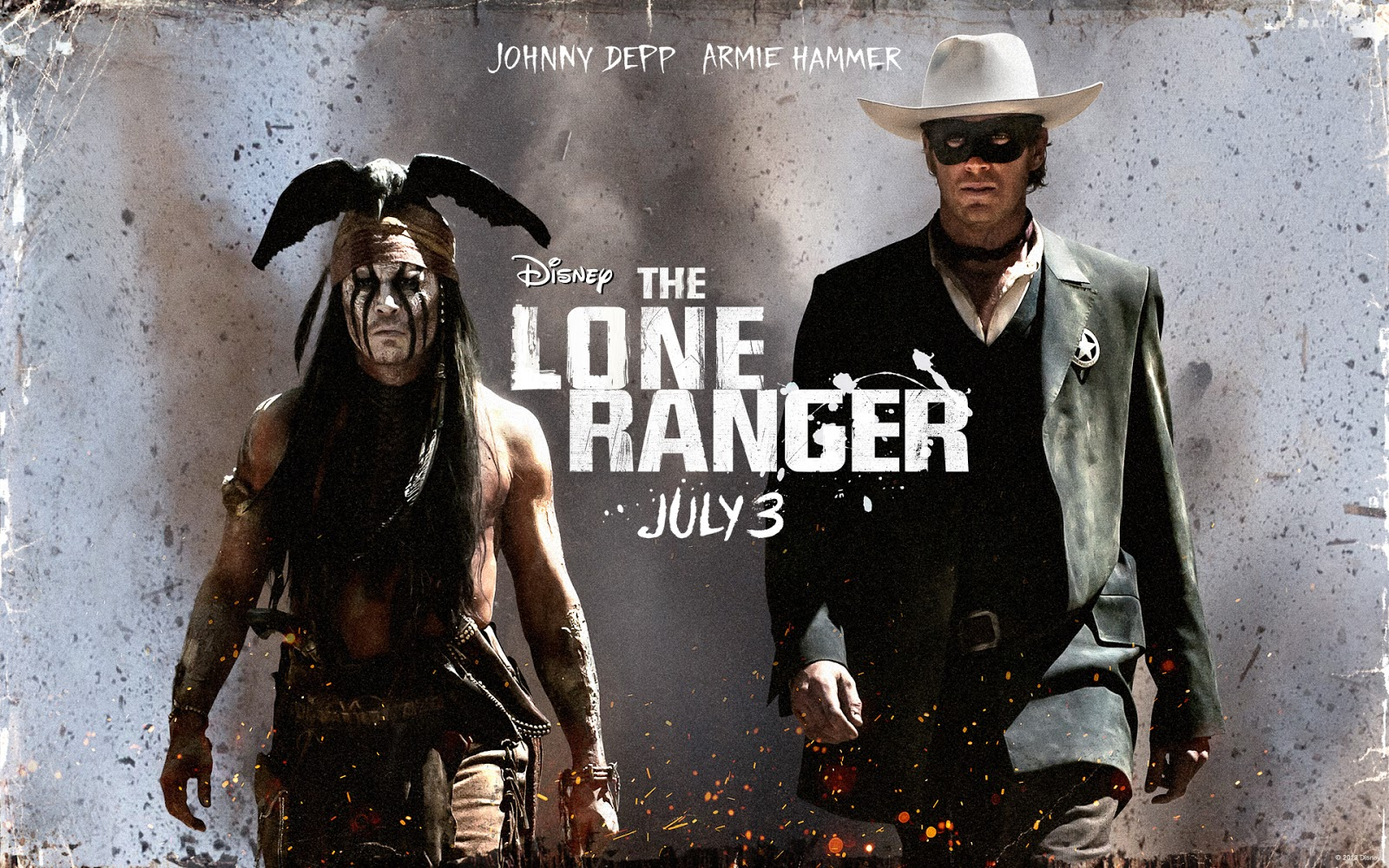 review the lone ranger 2013