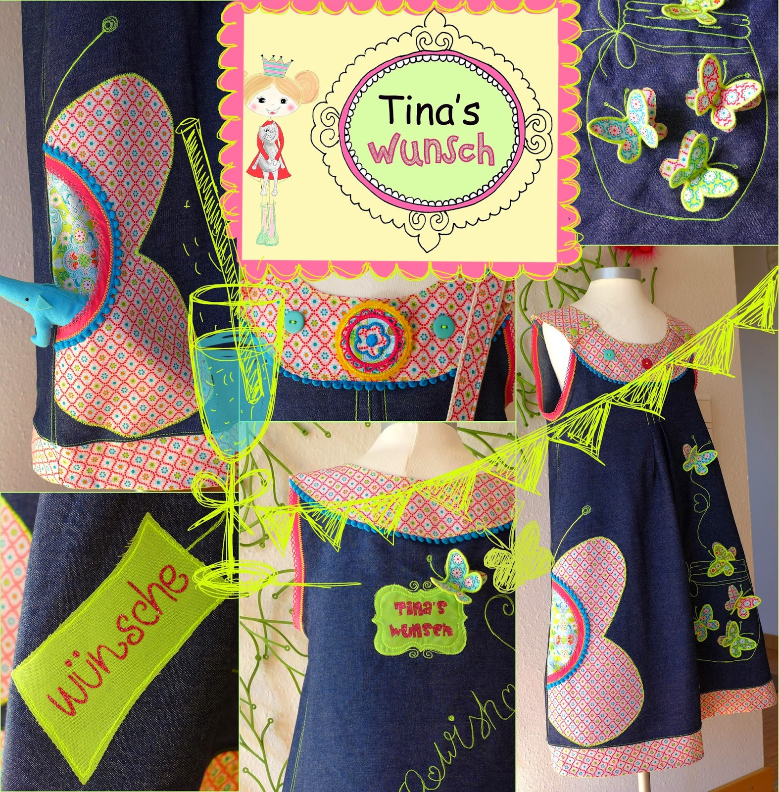 Mäde! by Kasia: Tutorial, pattern and embroidery file / Anleitung ...