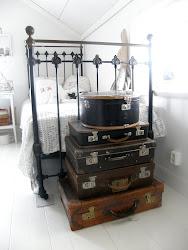 Gamla resväskor samlar jag på