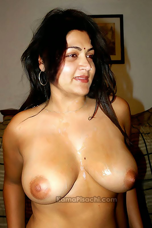 kushboo nude photo showing her boobs and nipples fake