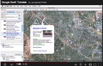 Placemark Google Earth During Tour
