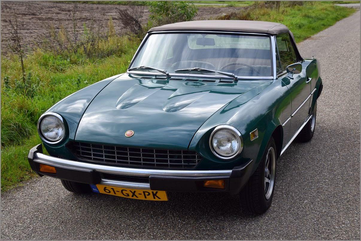 Fiat 124 Spider Pinnin Farina 1800 1978 Stuurman Classic And 1970 Convertible