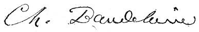 Firma dell'autore.