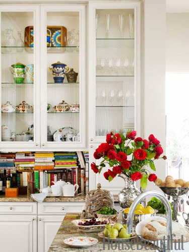 house beautiful white kitchen decor