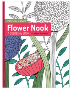 Flower Nook: A Coloring Book