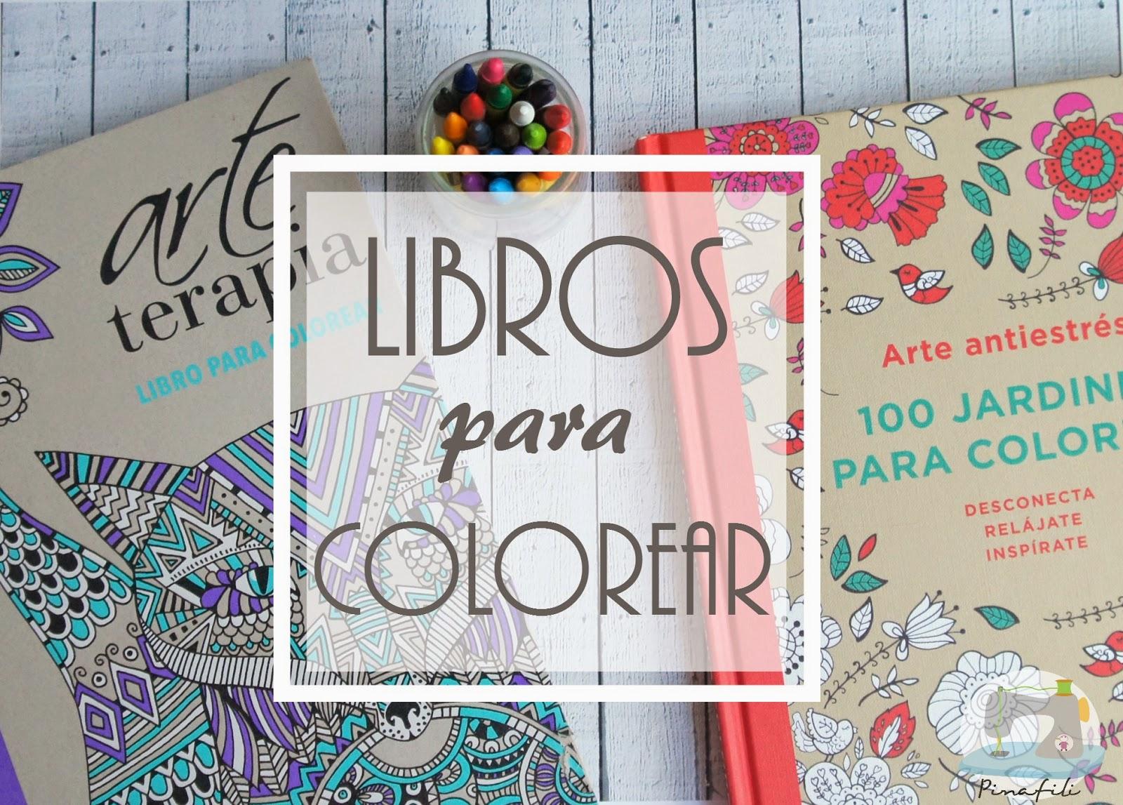 pinafili: LIBROS PARA COLOREAR