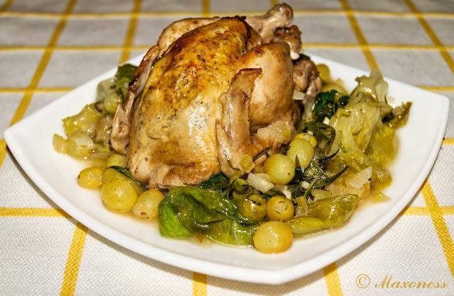 Особенным образом тушеная курица от Джейми Оливера