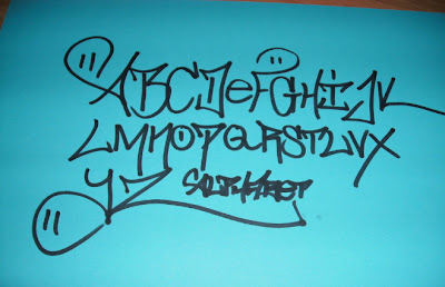 Graffiti Alphabet, Graffiti Letters,