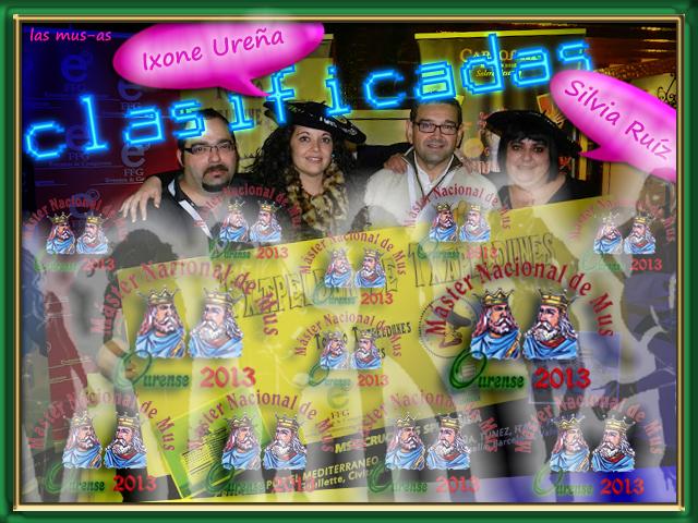 Campeonas Máster Nacional de Mus Orense 2013