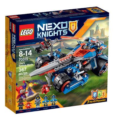 TOYS : JUGUETES - LEGO Nexo Knights  70315 Espada Tronadora de Clay | Clay's Rumble Blade  Producto Oficial 2015 - 2016 | Piezas: 367 | Edad: 8-14 años  Comprar en Amazon España & buy Amazon USA