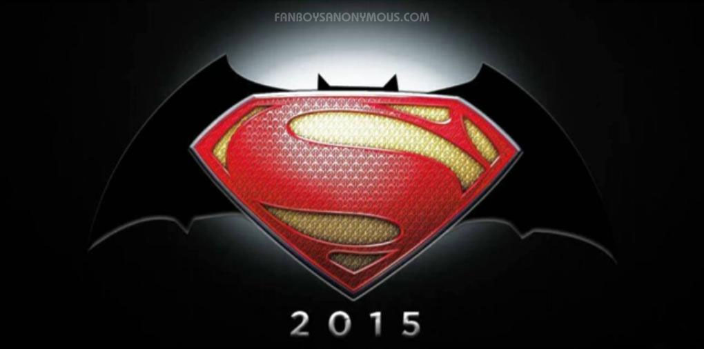 July 2013   Fanboys Anonymous Batman Vs Superman Movie Logo