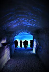 Exploring the Langjokull Glacier