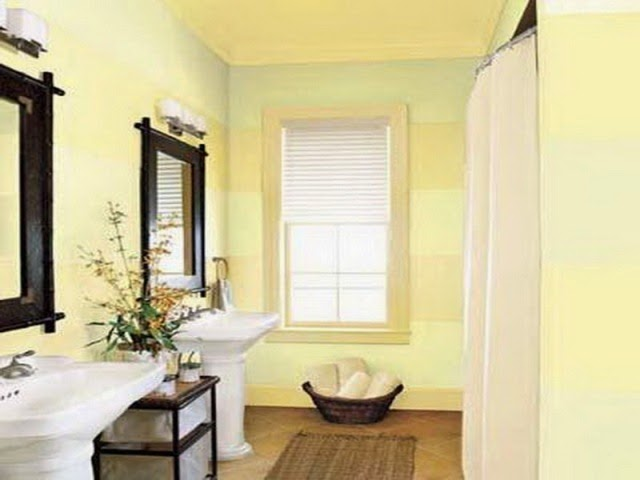 small bathroom wall paint ideas