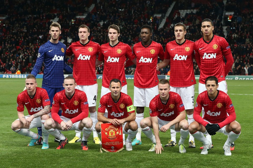 manchester united formation everton