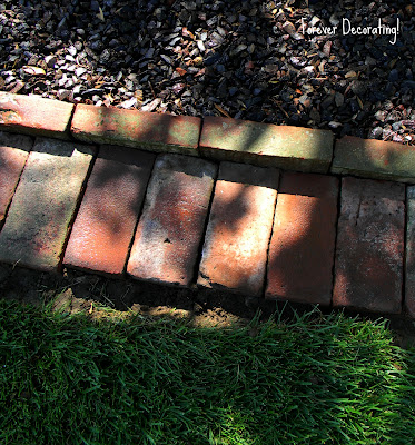 Brick Edging For Your Flower Beds3