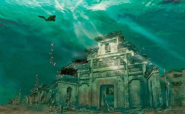 Underwater City - Shicheng, China