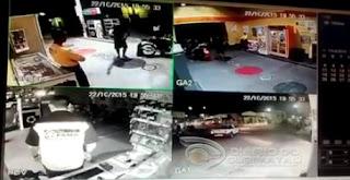 Posto de combustíveis é assaltado em Cuité na noite desta quinta-feira (22); assista o vídeo