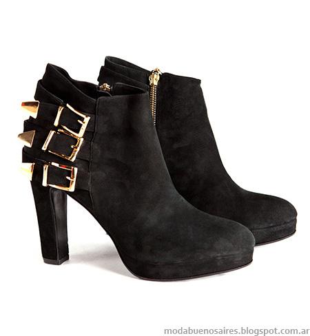 Moda otoño invierno 2014 zapatos. Botas otoño invierno 2014.