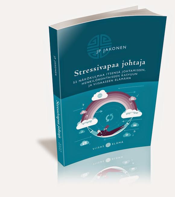 """Haluatko lukea tarkemmin? Tilaa ilmainen näyte uudesta kirjastani """"Stressivapaa johtaja""""!"""