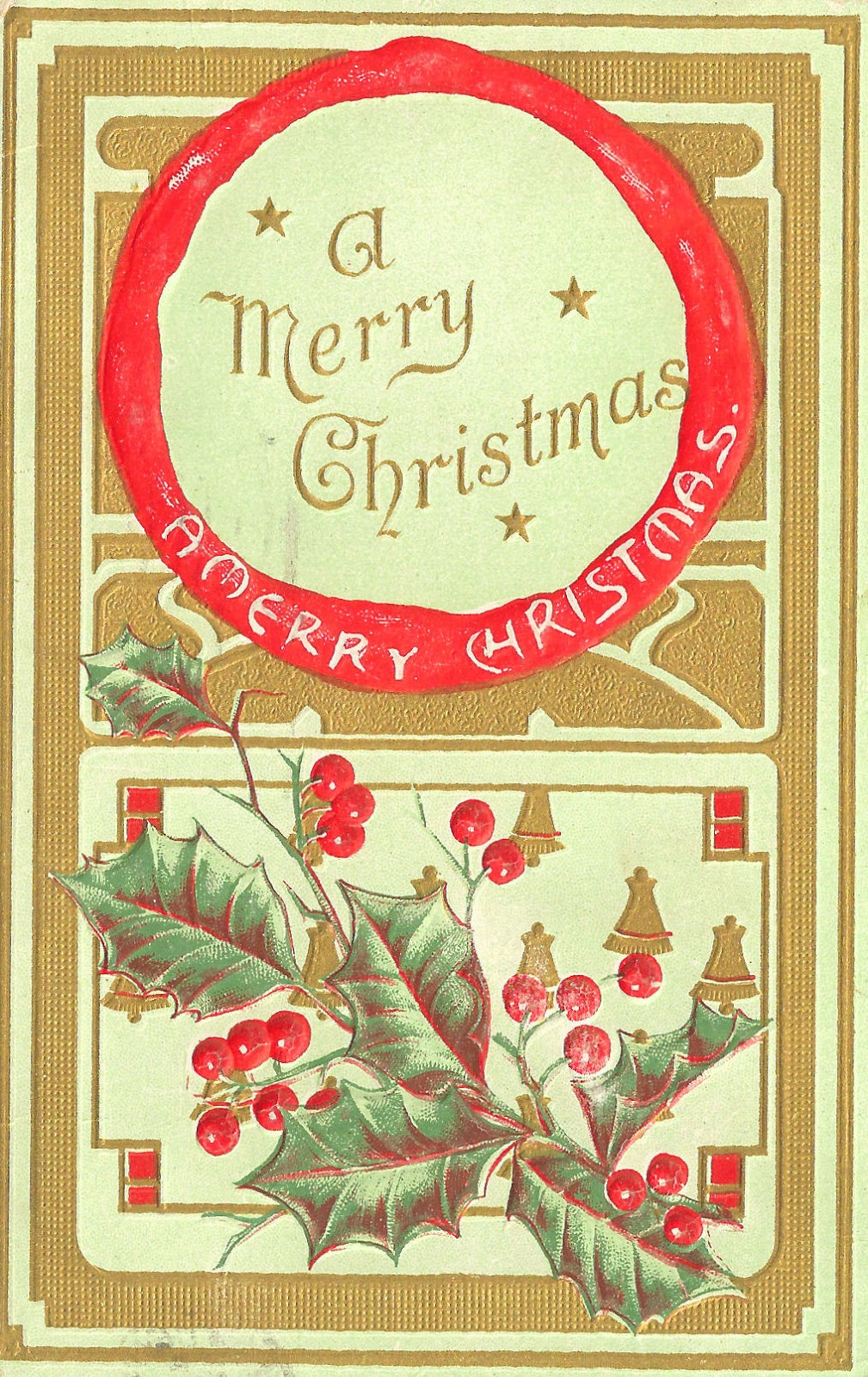 Antique Images: Free Printable Christmas Label: Vintage ...