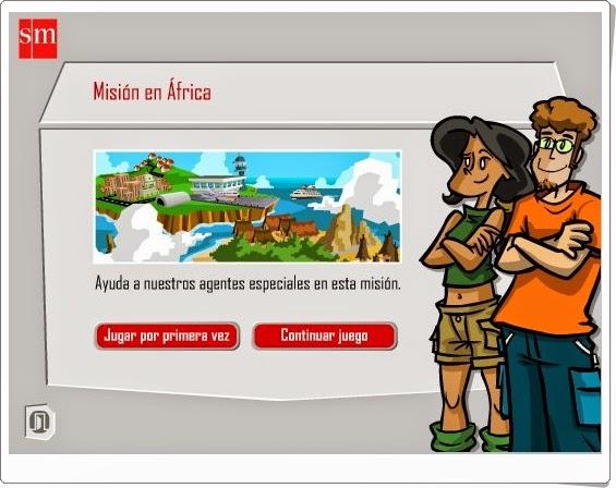 http://juegoseducativosonlinegratis.blogspot.com/2012/08/mision-en-africa-5-primaria-lengua.html