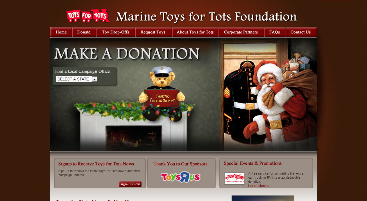 Toys For Tots Tax Deductible Donation Wow Blog
