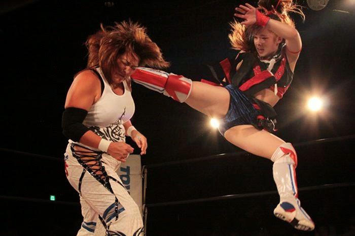 Yuhi-Hamada-japanese female wrestling-japanese female wrestlers
