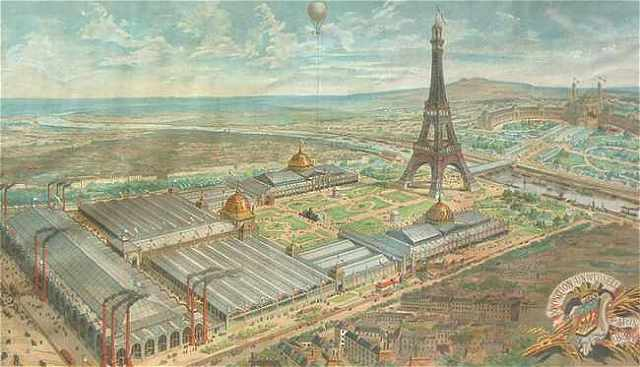 Vi tico de vagamundo 1889 paris universal exposition for Expo photo paris
