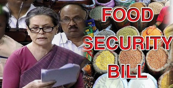 Food Security Bill Passed By Rajya Sabha