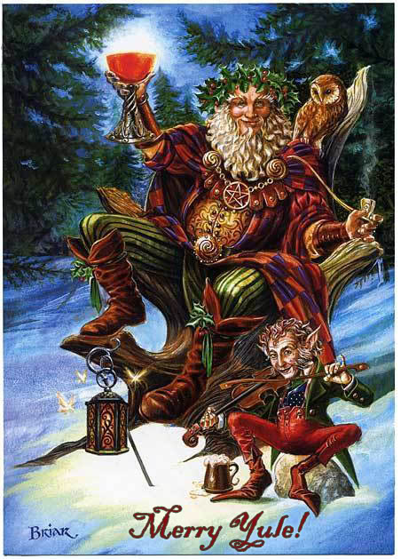 Wiccan Writes: Wiccan Checklist for Yule