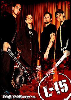 foto del grupo de heavy metal L-15